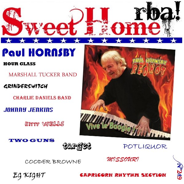 Sweet Home RBA! Spécial Paul Hornsby